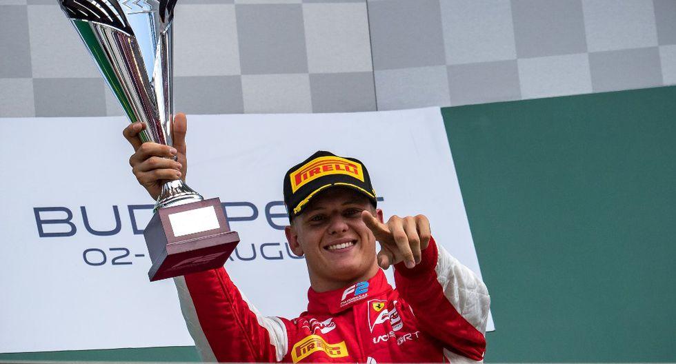 El heredero de 'Schumi' percibió un adelanto cuando manejó la Ferrari SF90. (Foto: AFP)