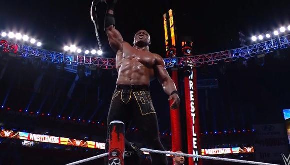 Bobby Lashley se convirtió en el campeón afroamericano de WWE con mayor reinado. (WWE)
