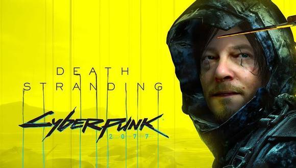 Cyberpunk 2077 y Death Stranding juntos en contenido para el título de Kojima. (Foto: Vandal)