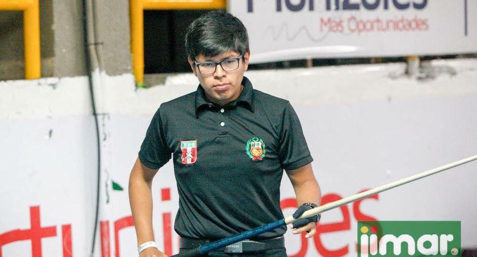 Luis Carrasco nació en Huancayo, tiene 20 años y es la joven promesa del billar peruano. (Foto: Difusión)