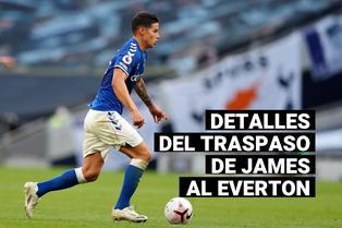 James Rodríguez: Entérate de los detalles de su traspaso al Everton de Ancelotti