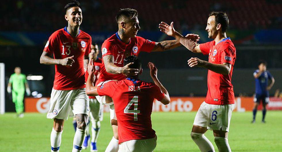 Chile vs Japón por la fecha 1 del Grupo C de la Copa América 2019 (Getty)