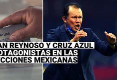 Por hacer campeón a Cruz Azul: Juan Reynoso recibió el voto de mexicanos en las Elecciones 2021