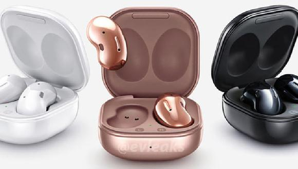 Samsung: filtran el diseño de los auriculares Galaxy Buds Live