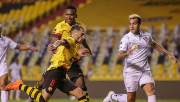 Barcelona SC y Liga de Quito terminaron igualados 2-2 por la LigaPro Ecuador 2021. (Foto: API)