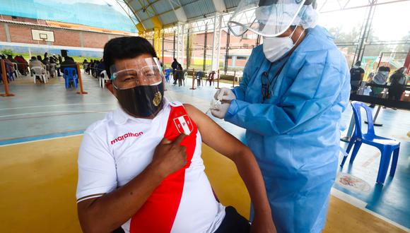 El ministro de Salud anunció la cuarta Vacunatón, que se desarrollará en los 22 vacunatorios de Lima y Callao, así como en nueve regiones del país (Foto: Geresa Cusco)