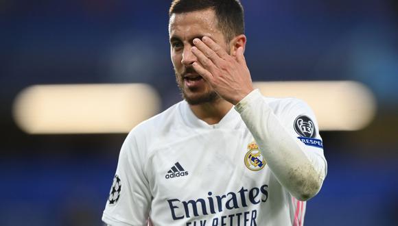 Eden Hazard llegó al Real Madrid tras la salida de Cristiano Ronaldo y 'heredó' el dorsal '7'. (Foto: Reuters)