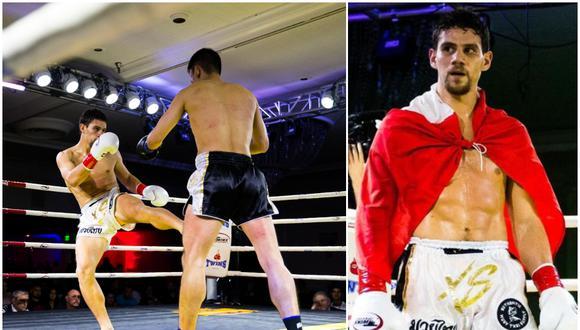 Ian Escuza tiene un récord profesional de 3-1 y pelea en 69.7 kilos. (Difusión)