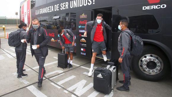 La Selección Peruana partió a Brasil para la Copa América (Foto: FPF)