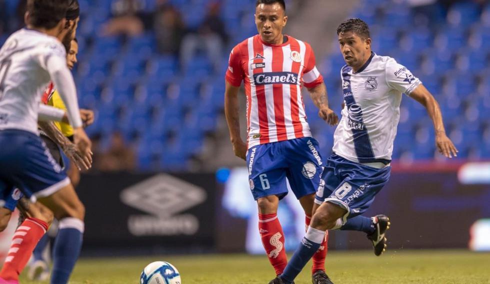 ¡Derrota en el Cuauhtémoc! Puebla cayó derrotado ante Atlético San Luis por Apertura 2019 Liga MX   vía TUDN. (@coderemx)