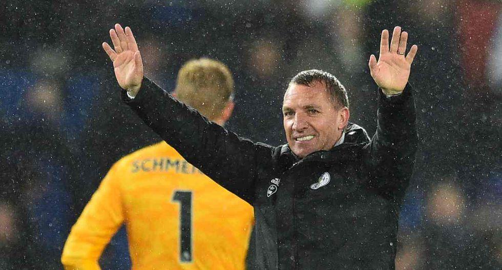 17 - Brendan Rodgers - Leicester City - 9,1 millones de euros. (Foto: AFP)