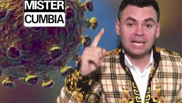 El Cumbión del Coronavirus: 'Mister Cumbia' crea una canción de prevención al contagioso ritmo de la cumbia (Foto: Mister Cumbia)