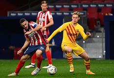 Atlético Madrid venció 1-0 a Barcelona con gol de Carrisco por la fecha 10 de LaLiga Santander
