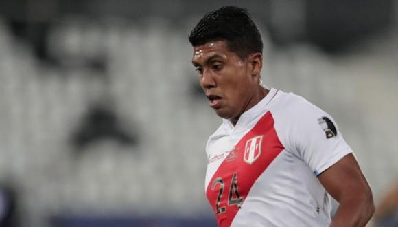 Raziel García fue una de las sorpresas de Perú en la Copa América 2021. (Foto: AFP)
