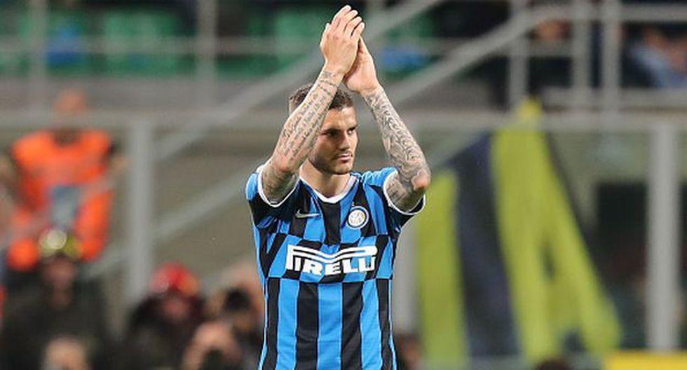 Mauro Icardi solo ha jugado por Inter de Milán en la Serie A. (Foto: Getty)