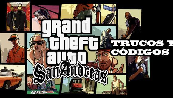 Trucos Gta San Andreas 2020 Todos Los Códigos Para Pc Ps2 Ps3 Y Android Lista Completa De Hacks Para Grand Theft Auto San Andreas Lista De Claves Para San