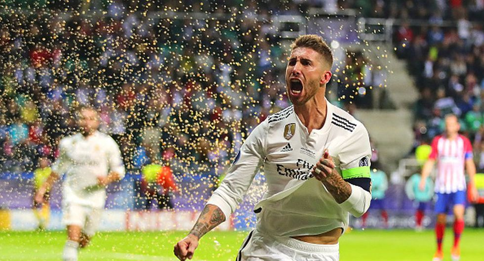 Sergio Ramos fue la gran figura del Real Madrid en la final de la Champions League 2014 ante Atlético de Madrid. (Foto: Getty Images)