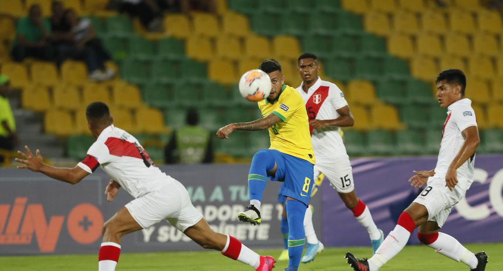 Brasil lidera la tabla de posiciones, seguido de Paraguay. Perú se ubica en cuarto puesto. (Foto: EFE)