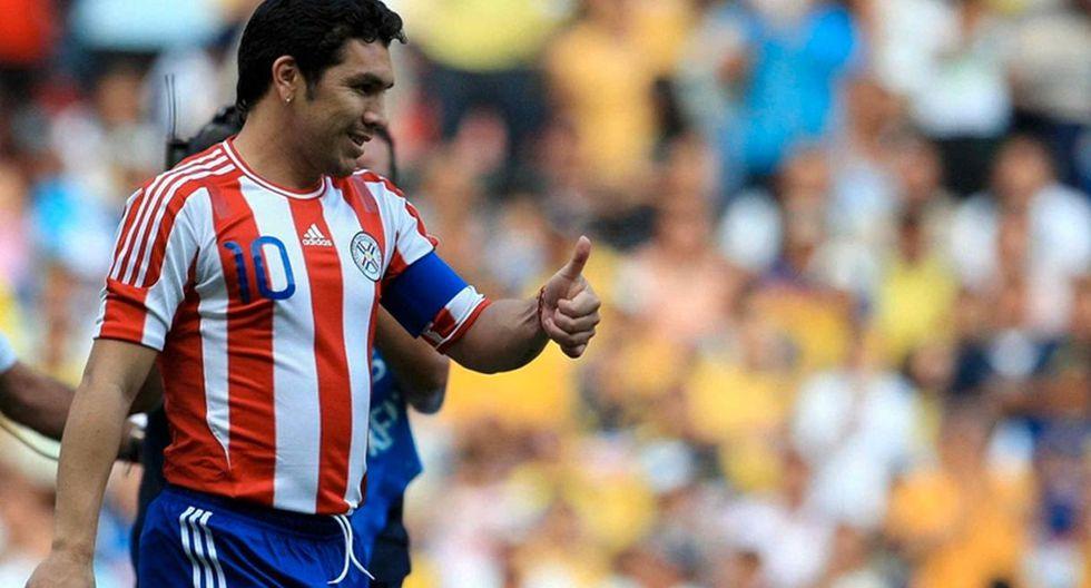 Salvador Cabañas será homenajeado previo al choque entre Perú vs. Paraguay en Estados Unidos. (Foto: Internet)