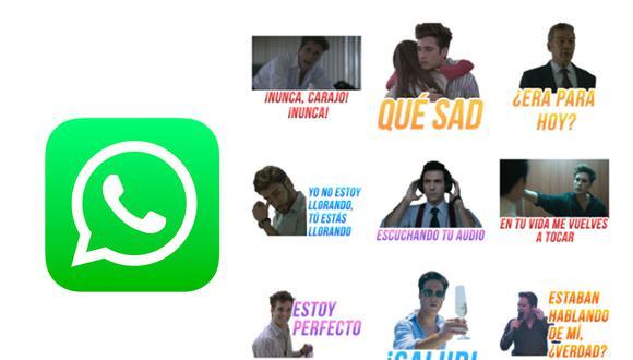 """Ya puedes descargar los stickers oficiales de """"Luis Miguel: la serie"""" para WhatsApp. (Foto: Depor)"""