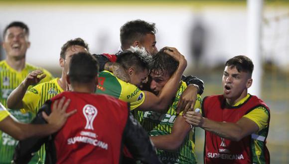 Defensa y Justicia venció a Coquimbo y disputará el título de la Copa Sudamericana. (AP)