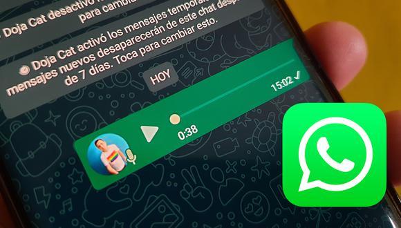 Así puedes modificar tu voz en WhatsApp de forma sencilla. (Foto: Depor)