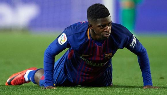 Ousmane Dembélé llegó al FC Barcelona en agosto de 2017. (Foto: AFP)