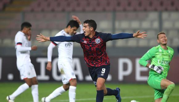 Matías Succar anotó el primer gol de Deportivo Municipal en el reinicio del torneo. (Foto: Liga de Fútbol Profesional)