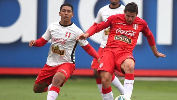 Selección Peruana venció 1-0 a la Sub 20 (Foto: FPF)