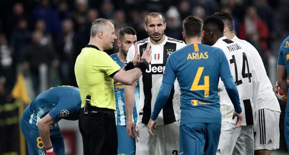 Juventus vs. Atlético de Madrid en Turín, Italia por la Champions League. (Foto: AFP)