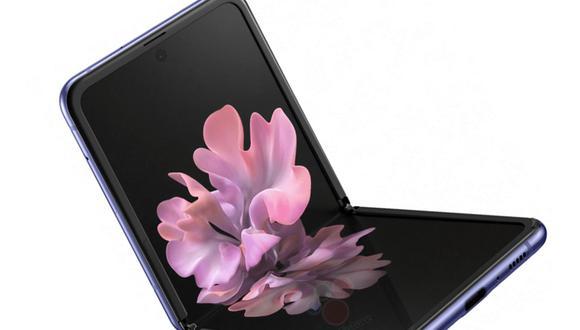 La pantalla del Samsung Galaxy Z Flip no salió bien parada de esta dura prueba de resistencia. (Foto: Evan Leaks)