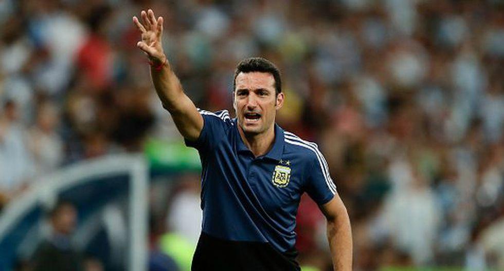 Lionel Scaloni llegó a la 'Albiceleste' tras la eliminación del Mundial. (Getty)