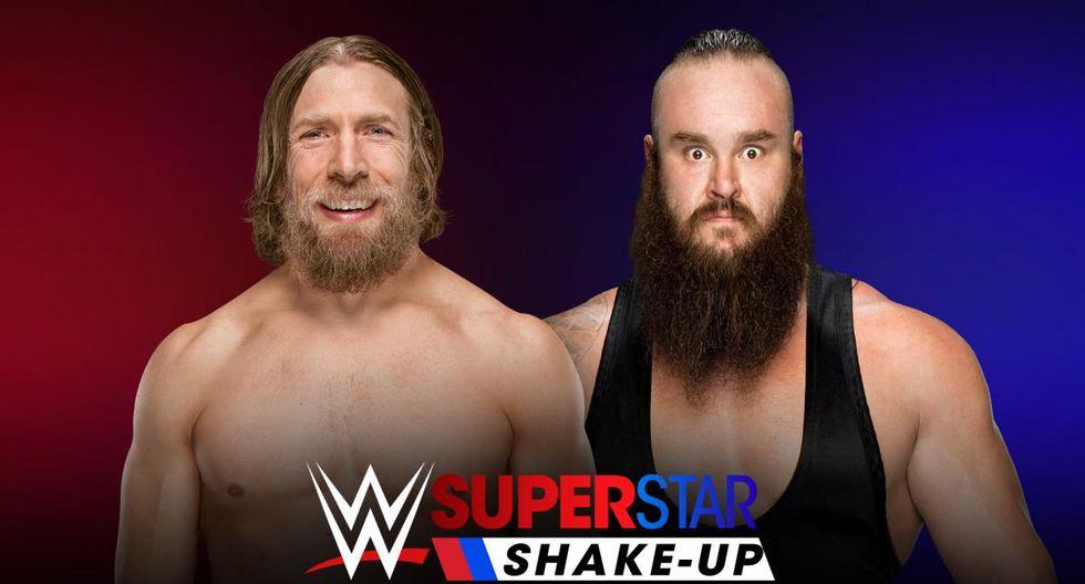 Los pronósticos del Shakeup 2018. (WWE)