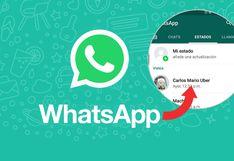 Aprende a descargar los 'estados' de tus amigos en WhatsApp