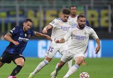 Celebra sobre el final: Real Madrid derrotó 1-0 al Inter de Milán por la Champions