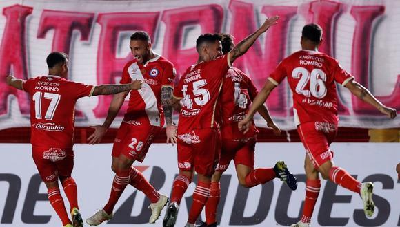Emanuel Herrera marcó su segundo gol en la Copa Libertadores. (Foto: ESPN)