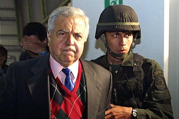 Gilberto Rodriguez Orejuela fue extraditado a los Estados Unidos (Foto: Policía Nacional/ AFP)