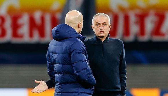 José Mourinho actualmente dirige al Tottenham de la Premier League. (Foto: Getty Images)