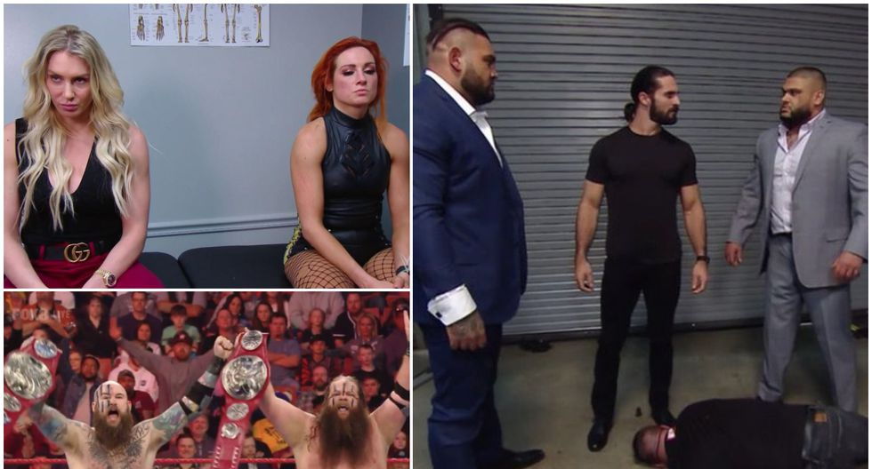 Conoce todos los resultados del Raw de Greenville en Carolina del Norte. (Foto: WWE)