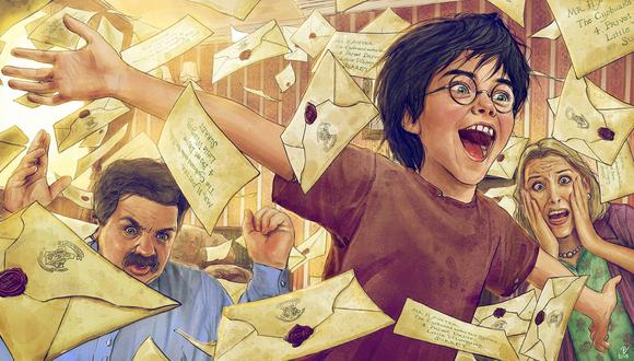 Los 10 temas más curiosos de fan fictions sobre el universo mágico de Harry Potter (Foto: RedAndGoldPhoenix)
