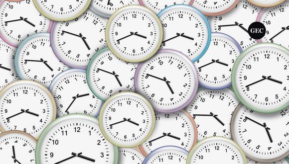 Un reloj con la hora diferente se encuentra escondido, y solamente tienes 15 segundos para encontrarlo. ¿Eres capaz de identificarlo? (Foto: GEC)