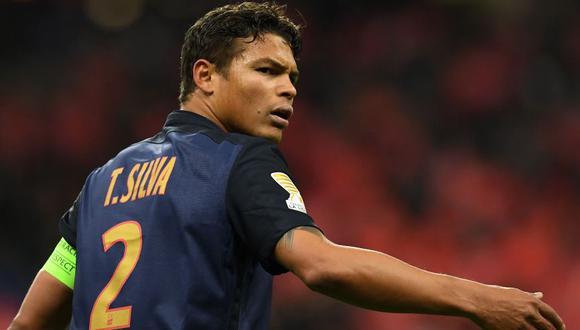 Thiago Silva llegó al PSG en el 2012. (Foto: AFP)
