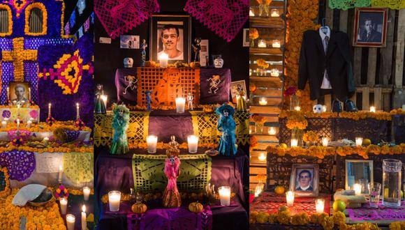"""El altar de muertos es una especie de """"portal"""" por el que los difuntos podrán visitar a sus seres queridos en casa (Foto: Reuters)"""