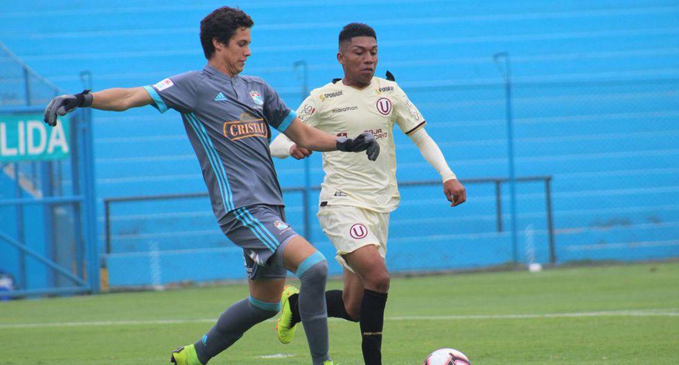 Universitario de Deportes y Sporting Cristal protagonizaron un partidazo en el Torneo de Reservas. (Foto: Universitario)