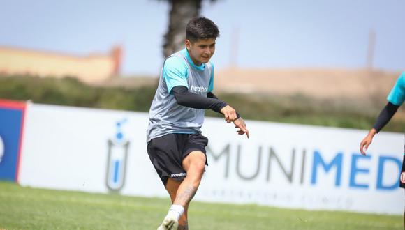 Mathías Carpio cerca de Sporting Cristal (Foto: prensa 'U')