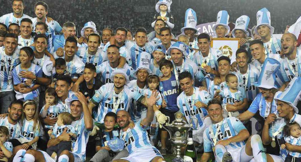 Racing Club, campeón de la Superliga Argentina 2018-19 (Foto: Racing club)