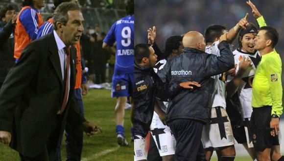 Peluso dio detalles del polémico gol de la U. de Chile a Alianza Lima. (Foto: Internet)