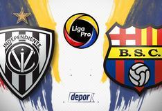 Barcelona SC vs. Independiente del Valle EN VIVO a través de Gol TV: partido y transmisión por la Liga Pro 2020