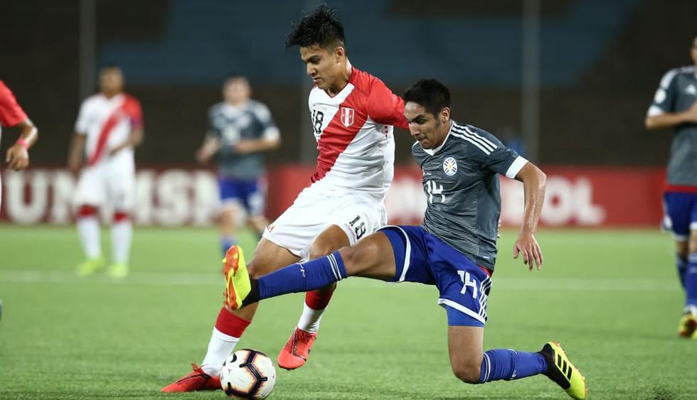 Perú vs. Paraguay por la tercera fecha del Sudamericano Sub 17. (Foto: Jesús Saucedo)