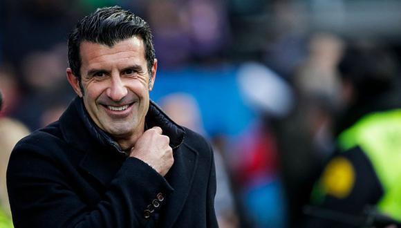 Luis Figo pasó del Barza al Real Madrid por, entonces, 61 millones de euros. (Getty Images)